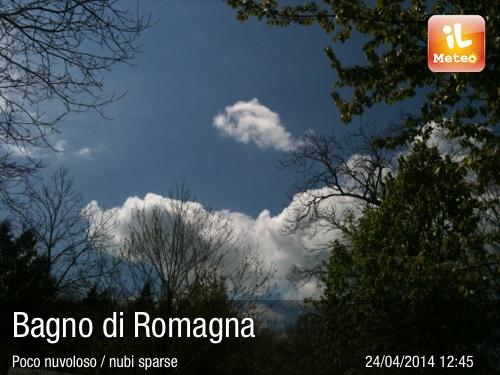 Foto meteo - Bagno di Romagna - Bagno di Romagna ore 12:45 ...