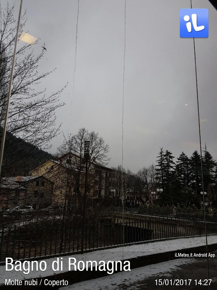 Foto meteo - Bagno di Romagna - Bagno di Romagna ore 14:27 ...