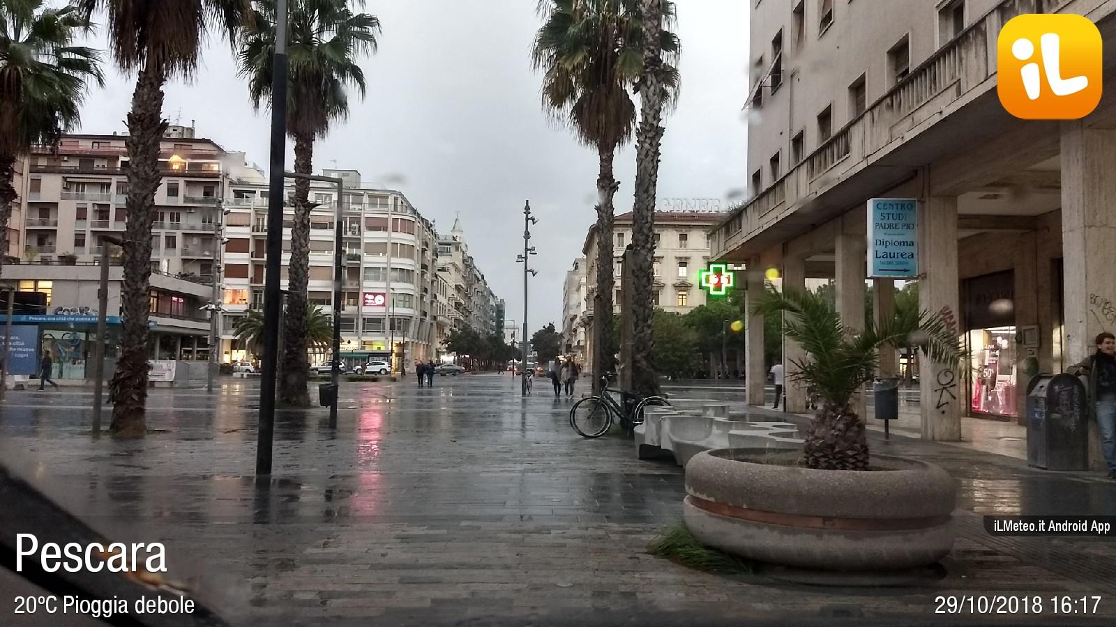 Foto meteo - Pescara - Pescara ore 16:17 » ILMETEO.it