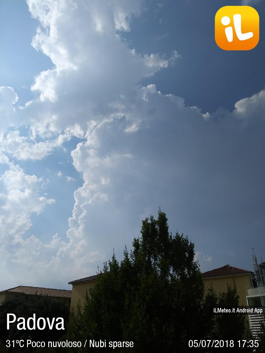 Foto meteo - Padova - Padova ore 17:35 » ILMETEO.it