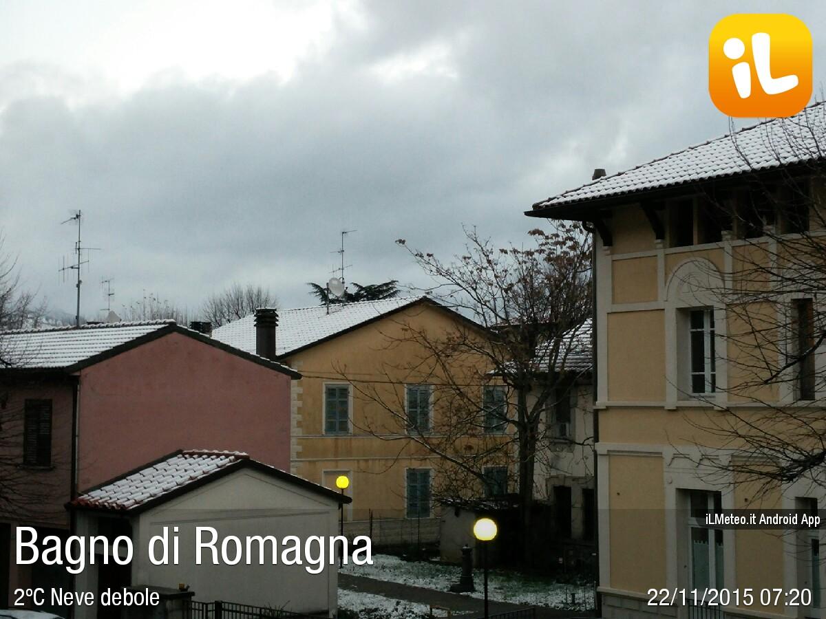 Foto meteo - Bagno di Romagna - Bagno di Romagna ore 7:20 » ILMETEO.it