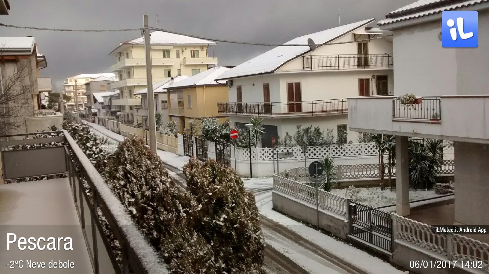 Foto meteo - Pescara - Pescara ore 14:02 » ILMETEO.it