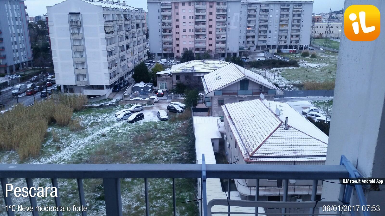 Foto meteo - Pescara - Pescara ore 7:53 » ILMETEO.it