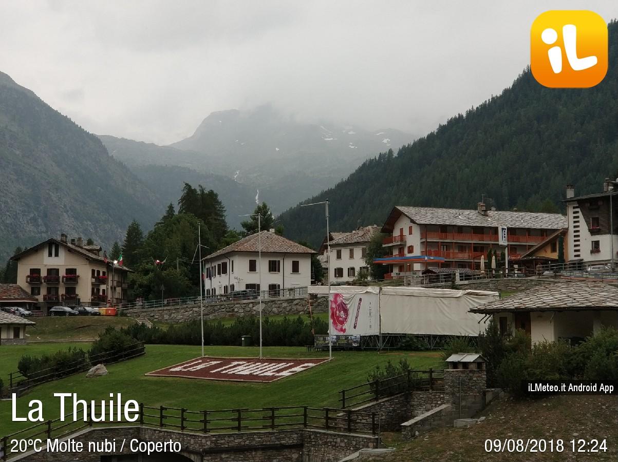 Foto meteo - La Thuile - La Thuile ore 12:24 » ILMETEO.it