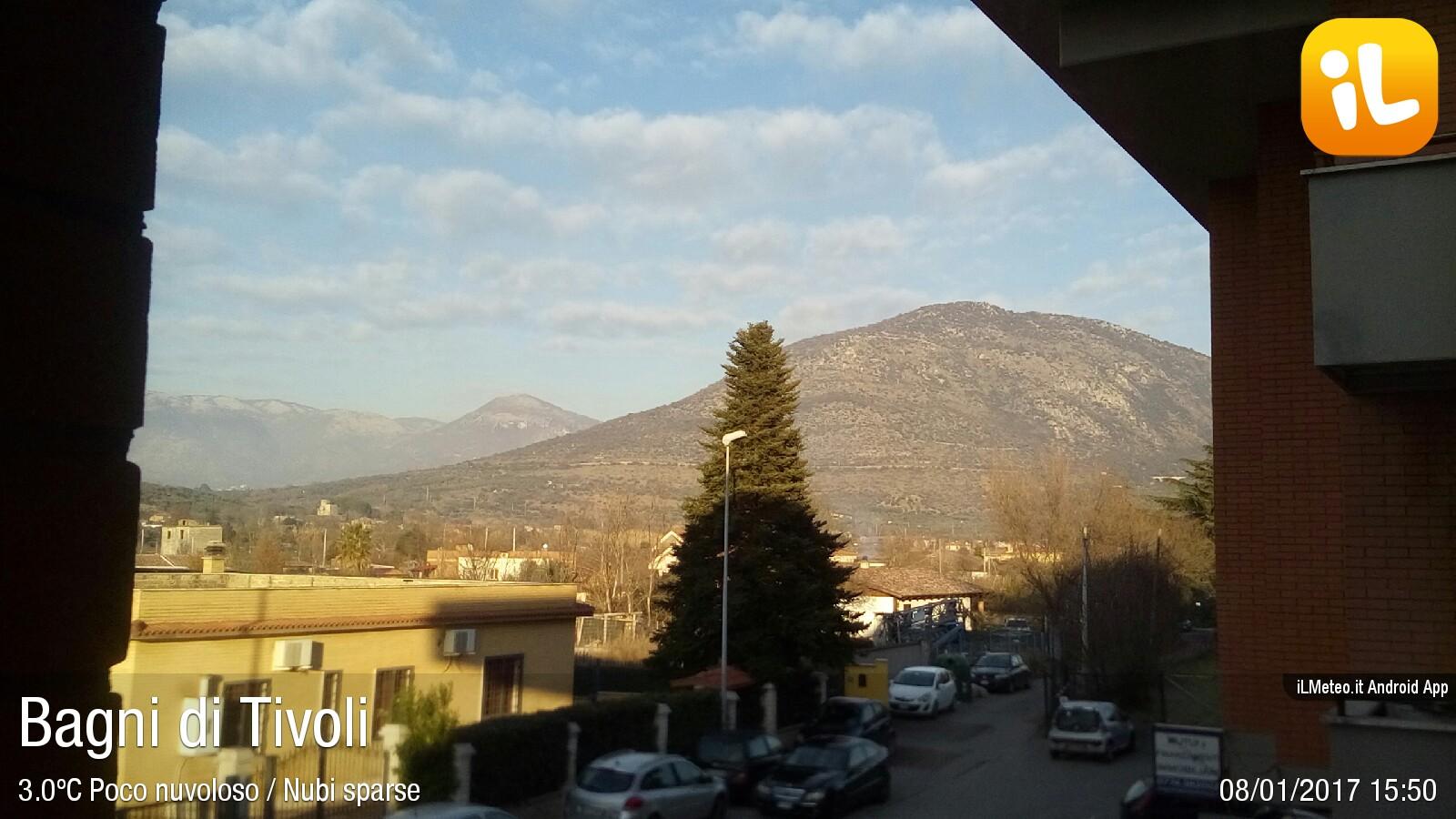 Foto meteo bagni di tivoli bagni di tivoli ore 15 50 - Bagni di tivoli ...