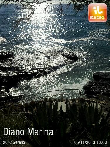Foto meteo diano marina diano marina ore 12 02 for Bagni arcobaleno sottomarina webcam