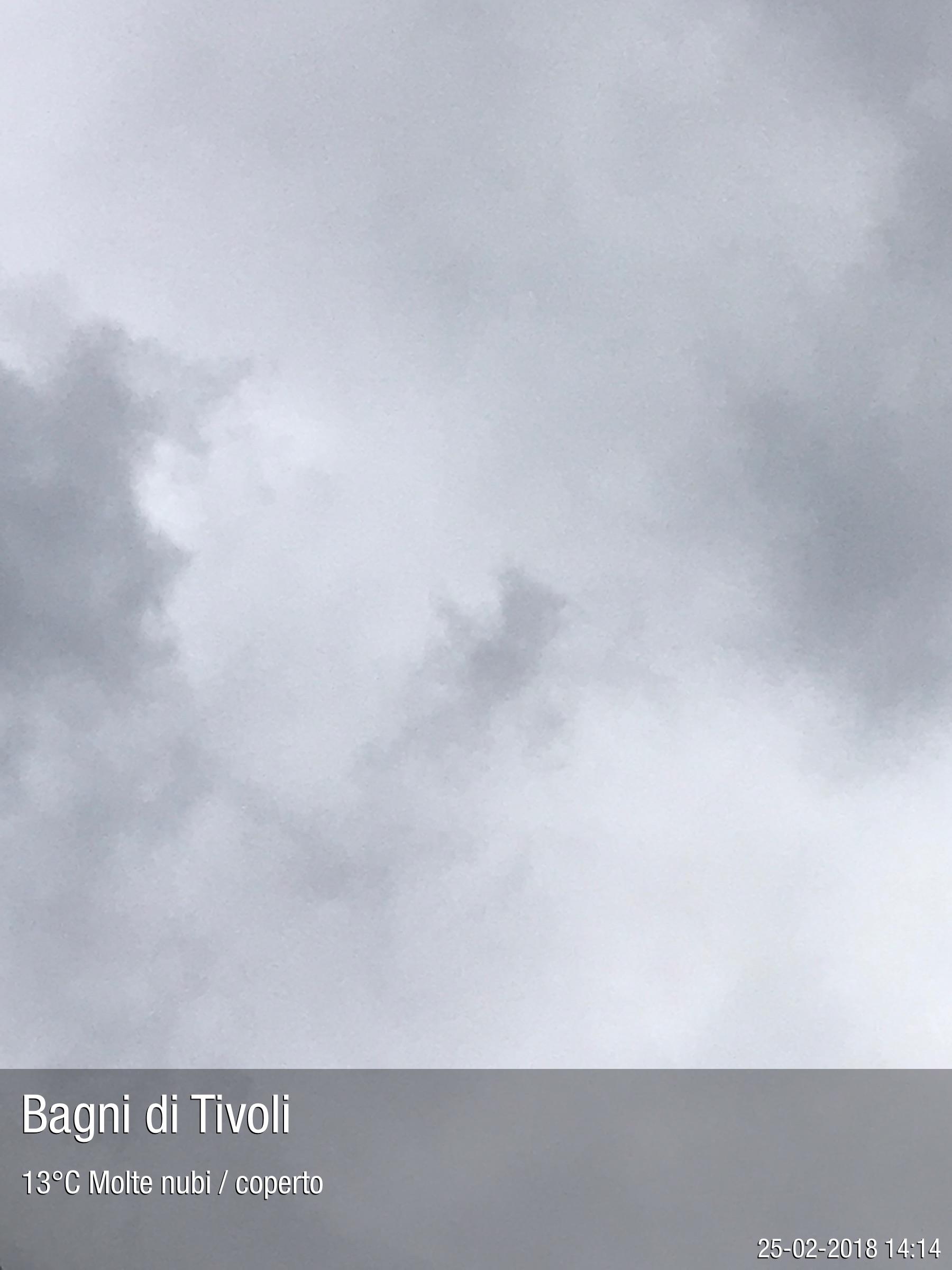 Foto meteo - Bagni di Tivoli - Bagni di Tivoli ore 14:15 » ILMETEO.it