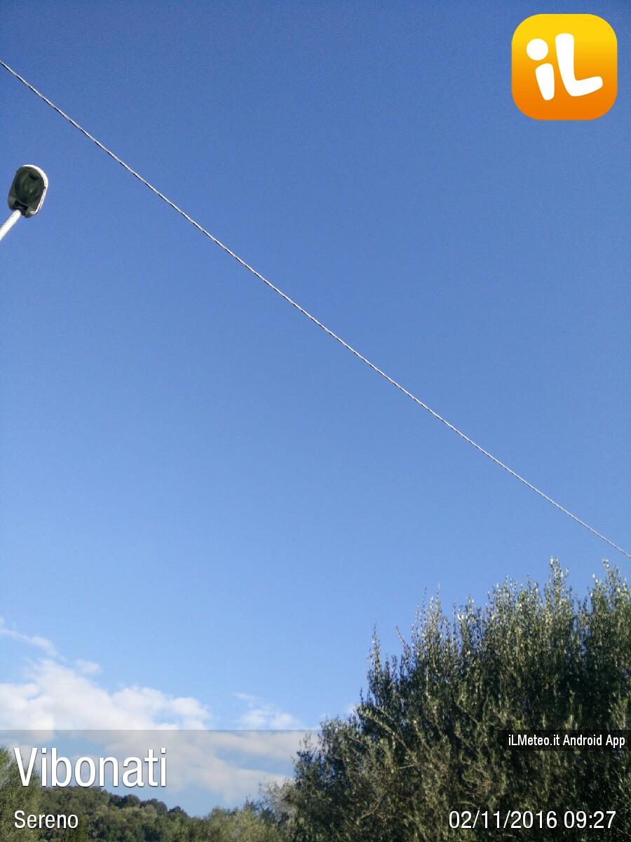 Foto meteo - Vibonati - Vibonati ore 9:27 » ILMETEO it