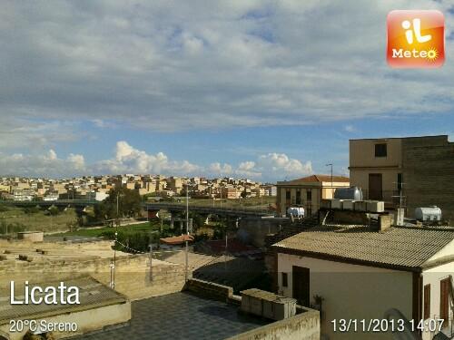 Foto meteo licata licata ore 14 06 for Meteo palma di montechiaro