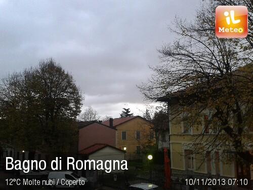 Foto meteo - Bagno di Romagna - Bagno di Romagna ore 7:10 » ILMETEO.it