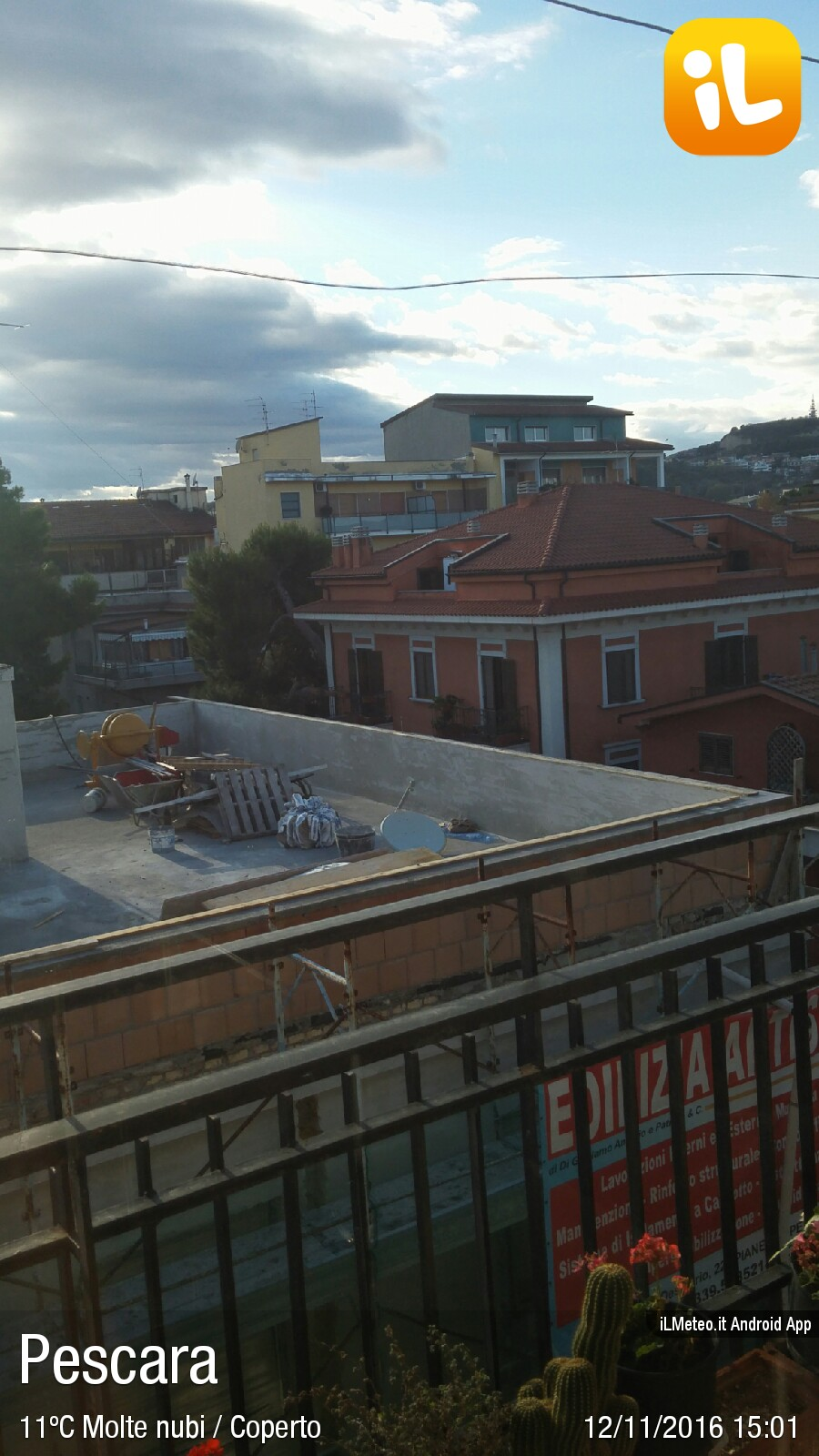 Foto meteo - Pescara - Pescara ore 15:01 » ILMETEO.it