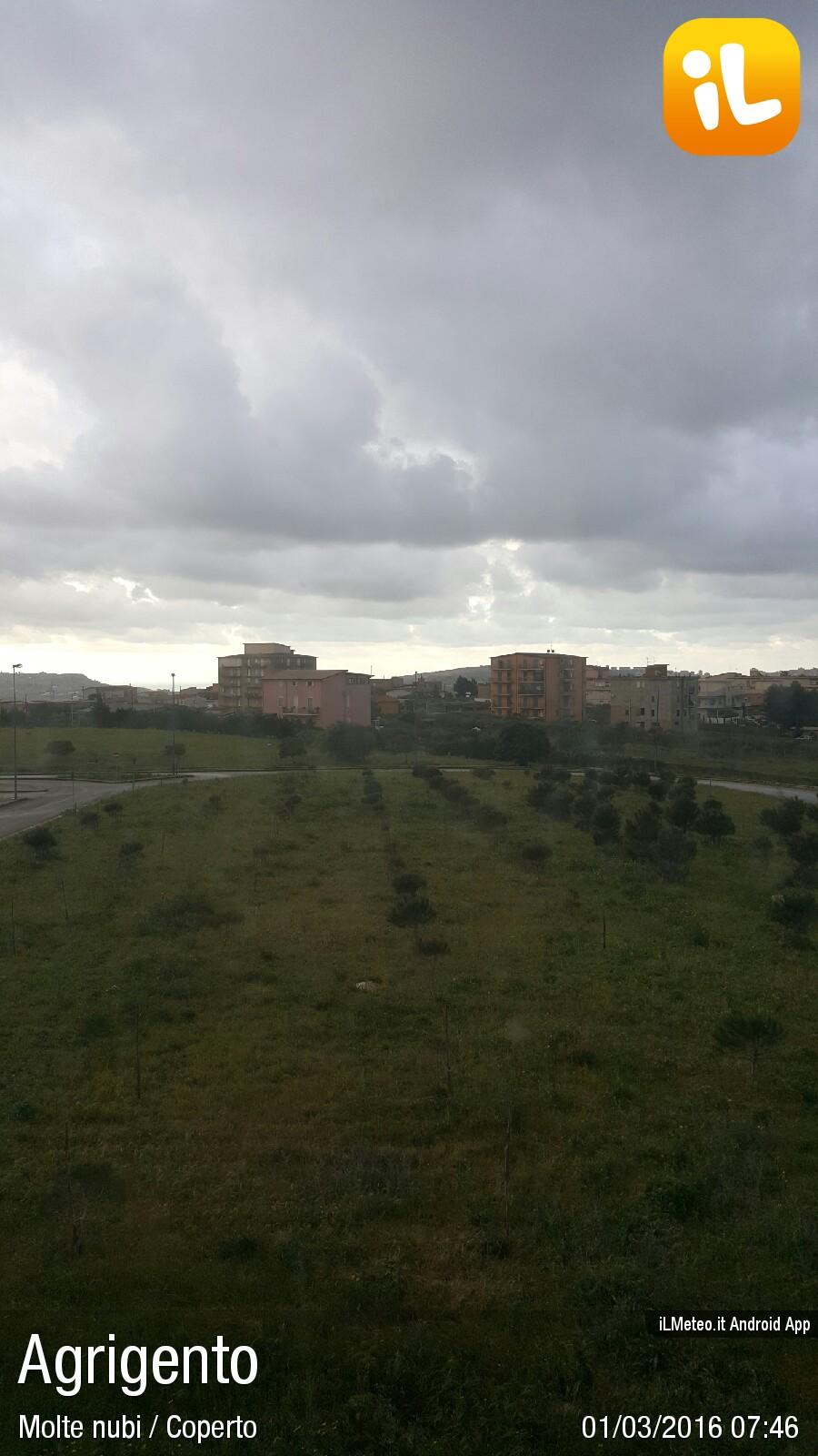 Foto meteo agrigento agrigento ore 7 46 for Meteo palma di montechiaro