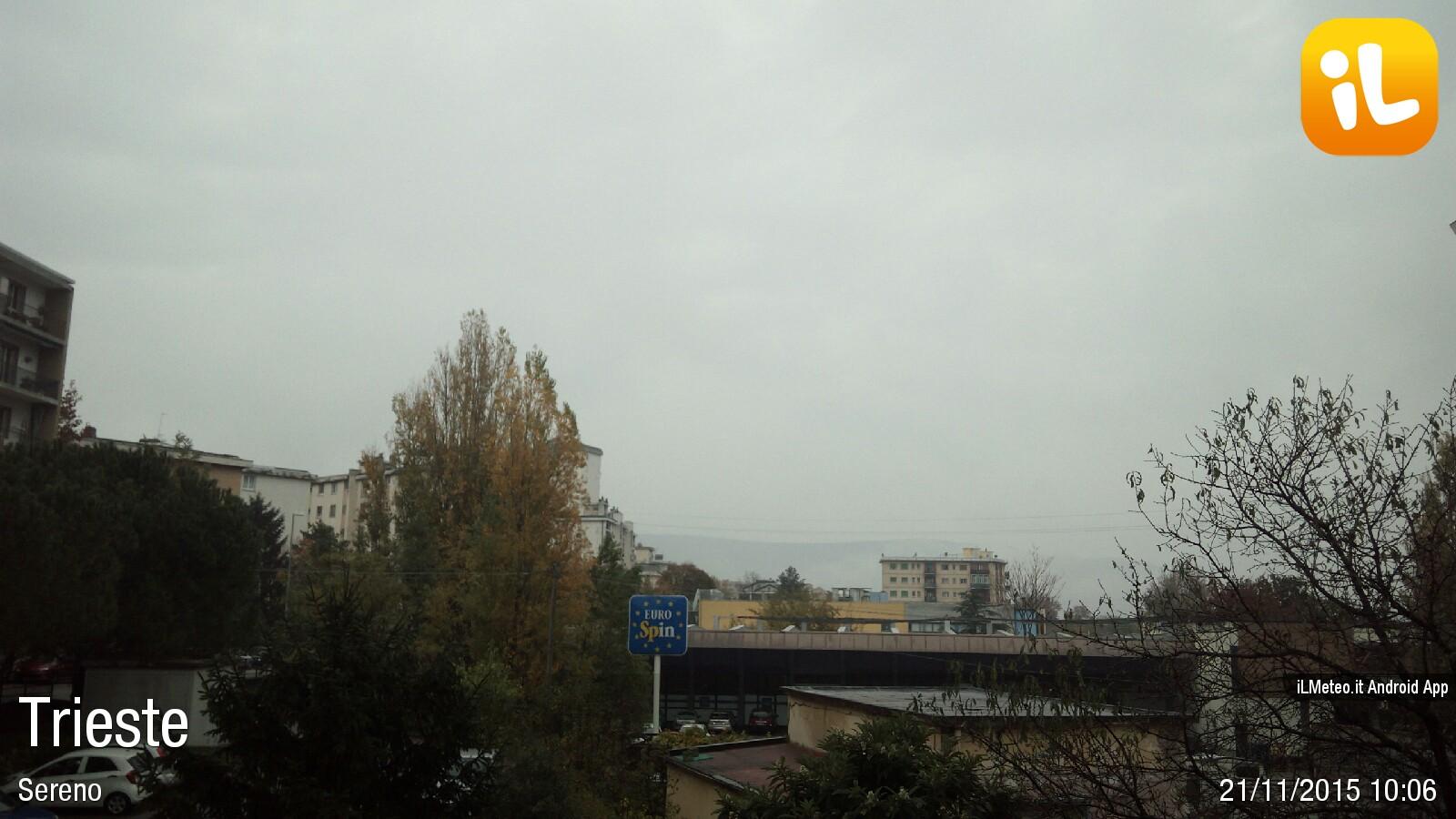 Foto meteo - Trieste - Trieste ore 10:09 » ILMETEO.it