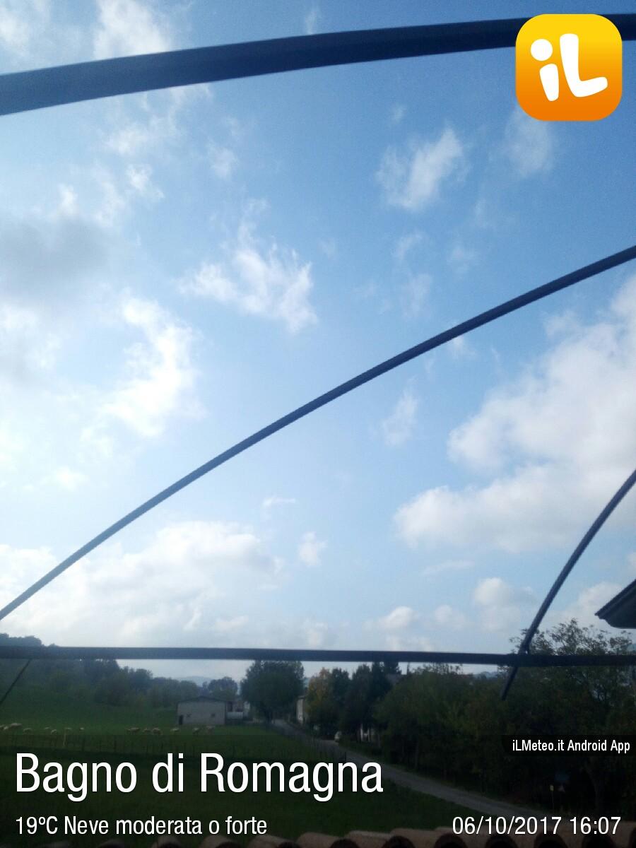 Foto meteo - Bagno di Romagna - Bagno di Romagna ore 16:07 ...