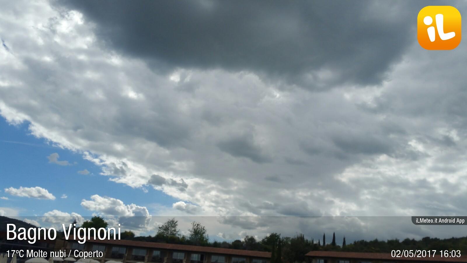Foto meteo - Bagno Vignoni - Bagno Vignoni ore 16:04 » ILMETEO.it