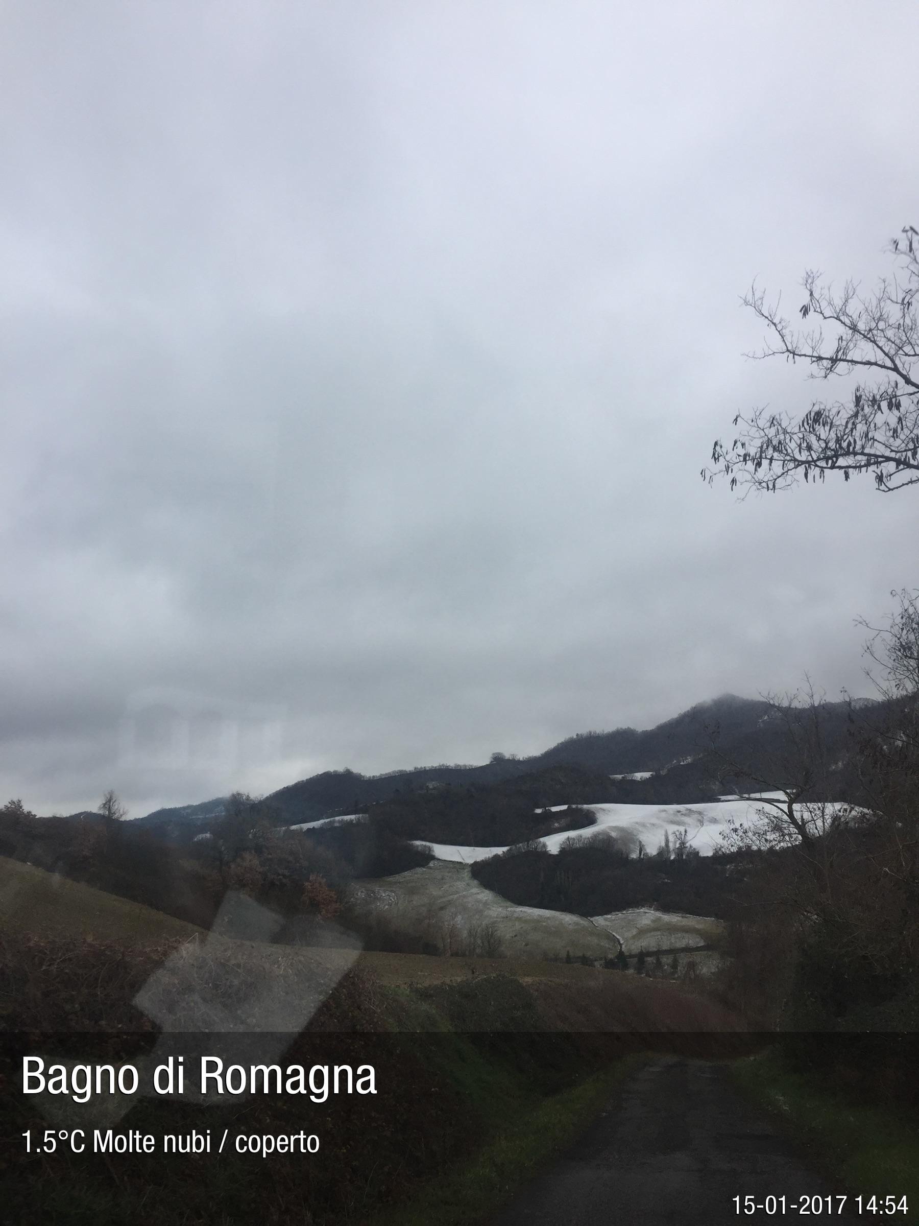 Foto meteo - Bagno di Romagna - Bagno di Romagna ore 14:54 ...
