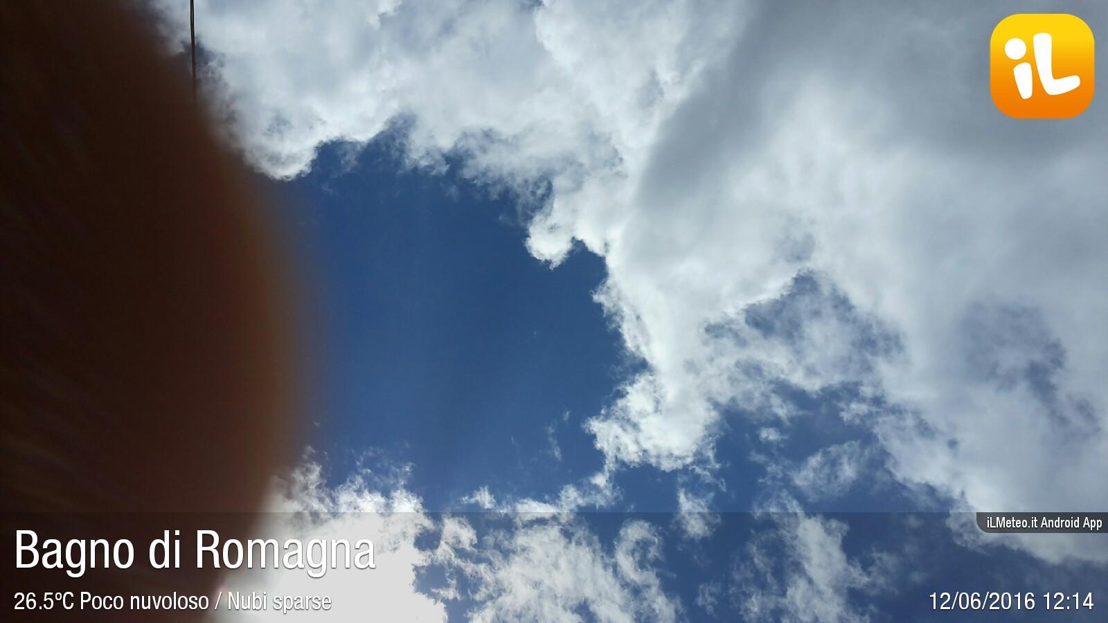 Foto meteo - Bagno di Romagna - Bagno di Romagna ore 12:13 ...