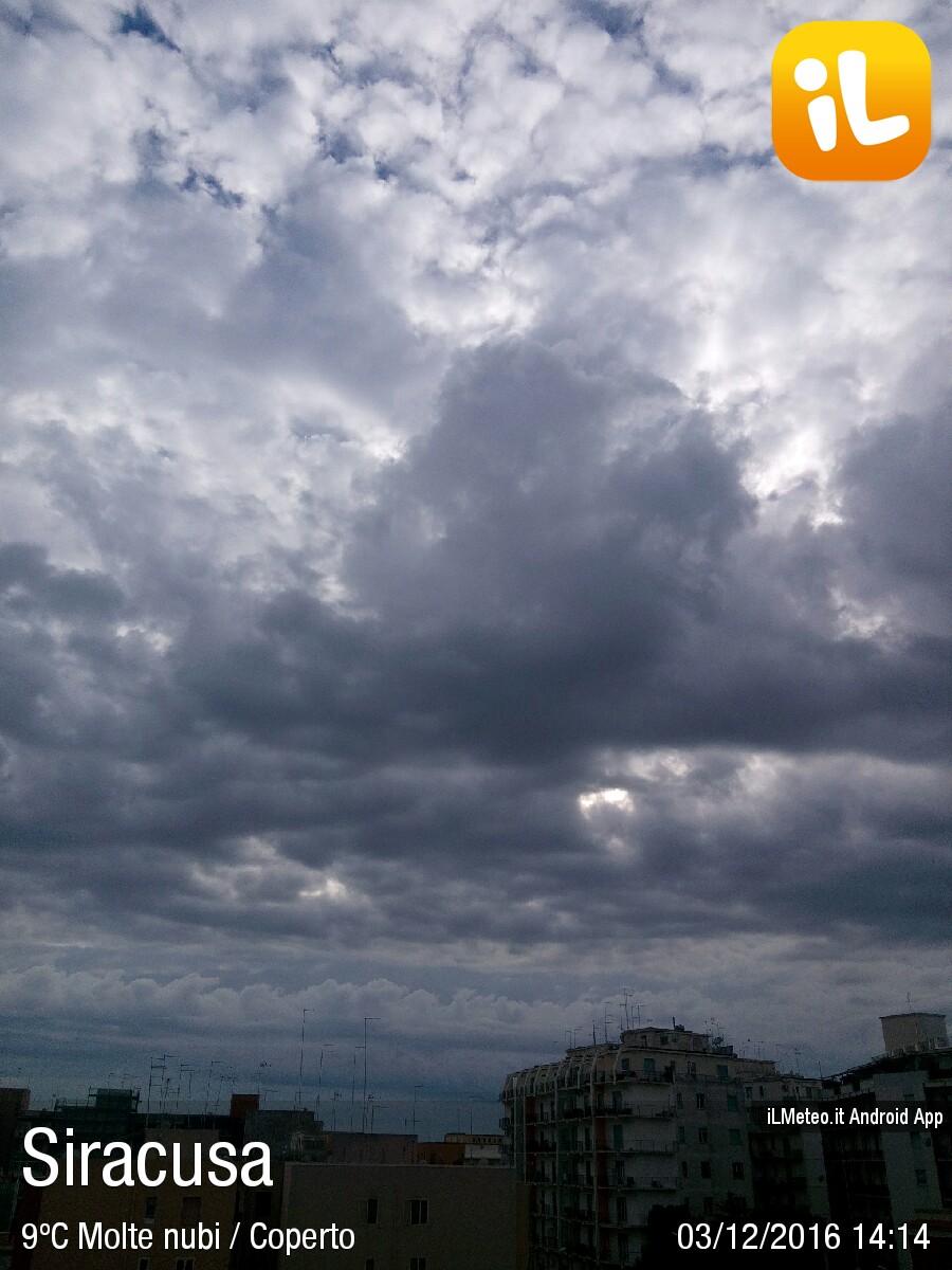 Foto meteo siracusa siracusa ore 14 14 for Bagni arcobaleno sottomarina webcam
