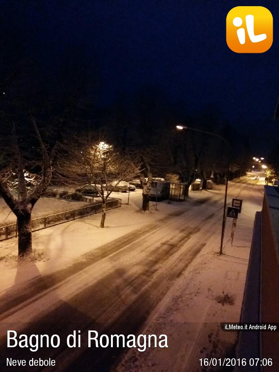 Foto meteo - Bagno di Romagna - Bagno di Romagna ore 7:06 » ILMETEO.it