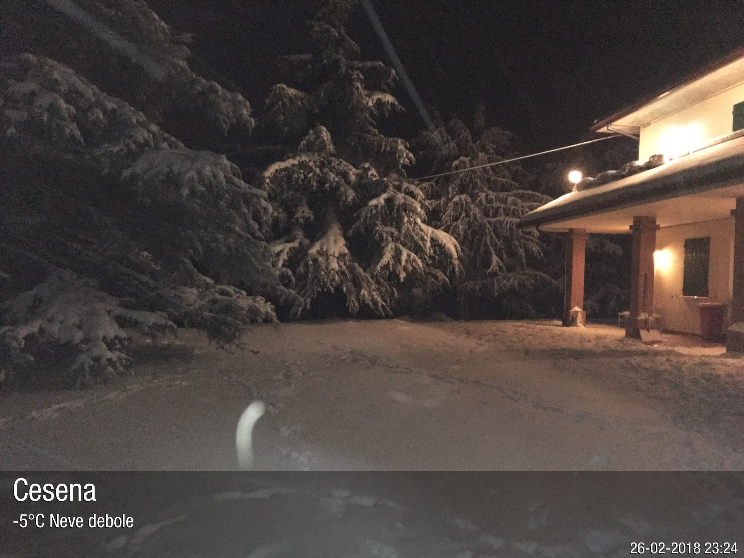 Foto meteo - Cesena - Cesena ore 23:24 » ILMETEO.it