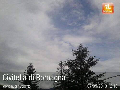 Foto meteo - Civitella di Romagna - Civitella di Romagna ore 12:17 ...