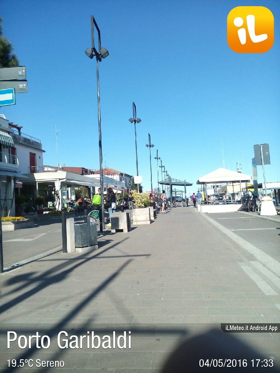 Foto meteo - Porto Garibaldi - Porto Garibaldi ore 17:33 » ILMETEO.it