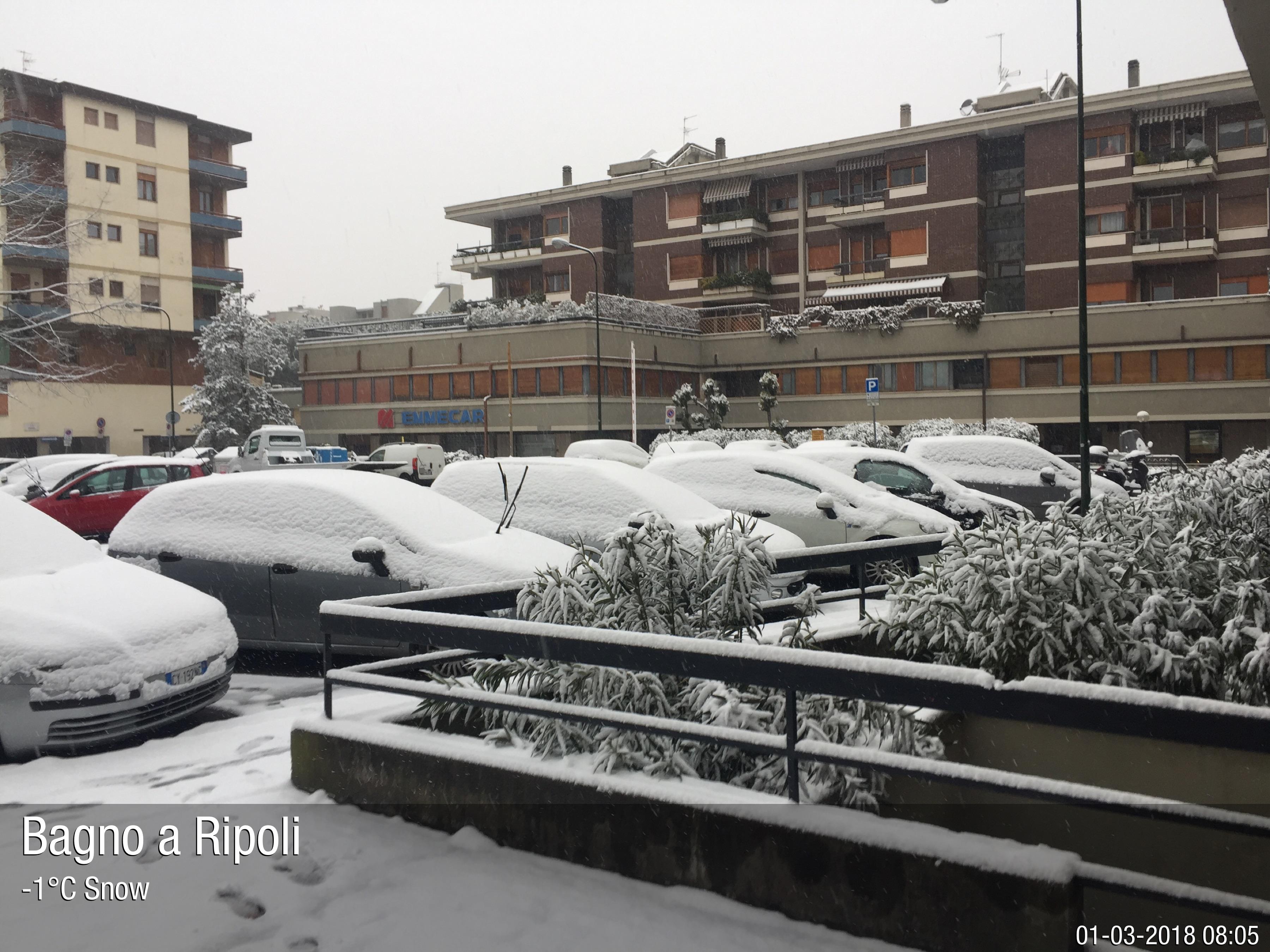 Foto meteo - Bagno a Ripoli - Bagno a Ripoli ore 8:05 » ILMETEO.it