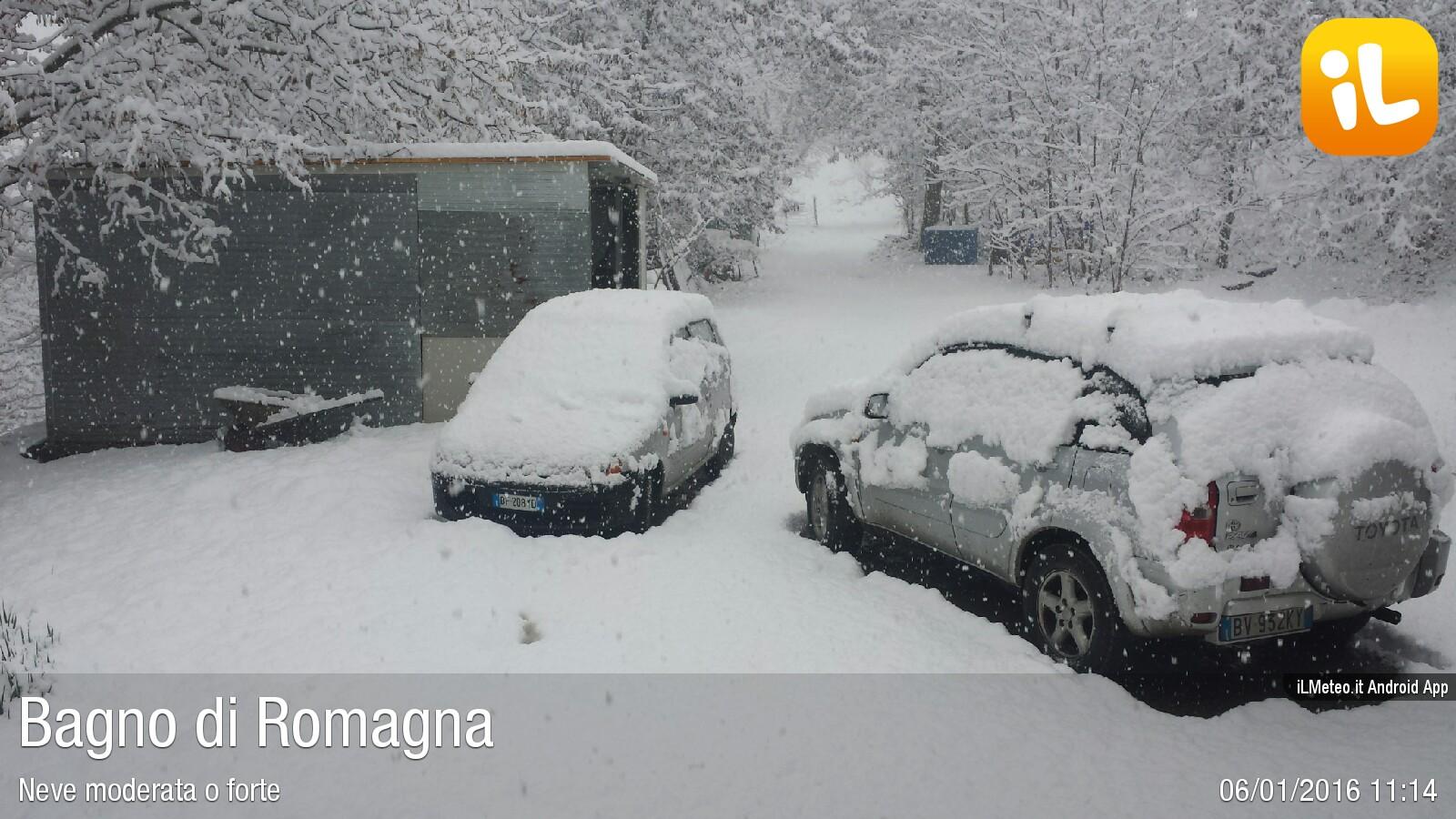 Foto meteo - Bagno di Romagna - Bagno di Romagna ore 11:14 ...