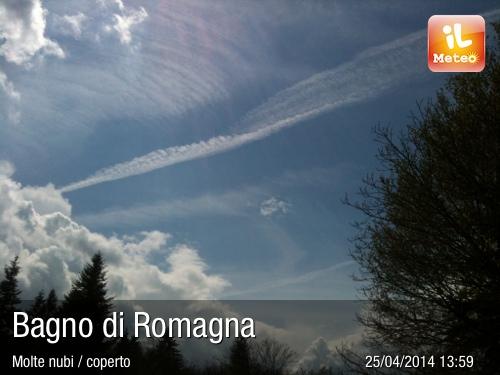 Foto meteo - Bagno di Romagna - Bagno di Romagna ore 13:59 ...