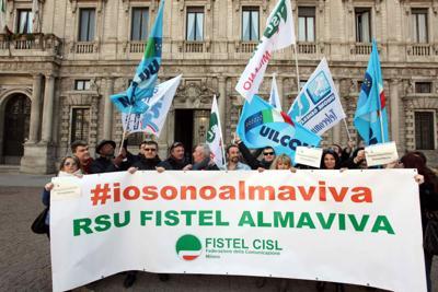 Almaviva accoglie l'appello del Governo: