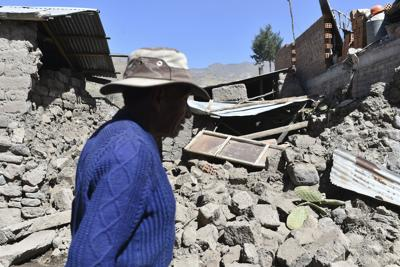 Terremoto in Perù: finora 9 vittime e 40 feriti