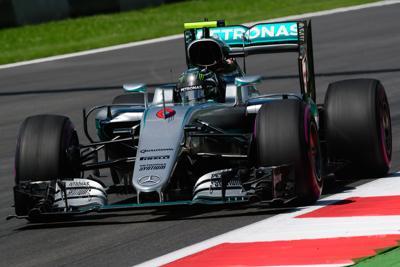 F1 GP Belgio qualifiche. Pole Rosberg ma Ferrari c'è!