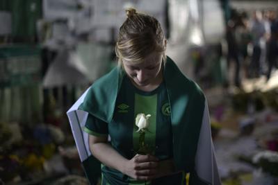 Chapecoense, funerali solenni allo stadio
