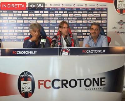 Crotone, il giorno di Davide Nicola: