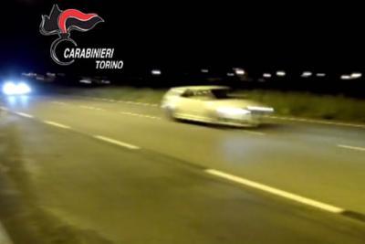 Torino: gare di auto clandestine a Rivoli. Piloti denunciati