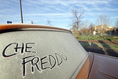 FOTO Freddo, è allerta gelo. Sul Laceno neve e crollo termico