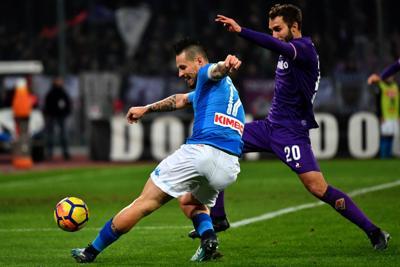 Pioli fortunato col Napoli, ma Sarri sa battere la Fiorentina: le statistiche