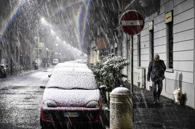 Meteo, Arriva il ciclone Sirte, da lunedì è inverno