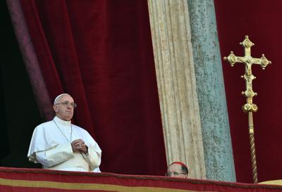Papa: Pace in Palestina, basta guerra in Siria