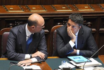 Avanza sistema tedesco, gelo Renzi-Alfano: ipotesi voto a settembre