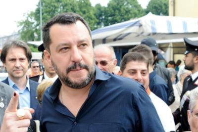 Tappa anche a Lamezia per il tour di Matteo Salvini: