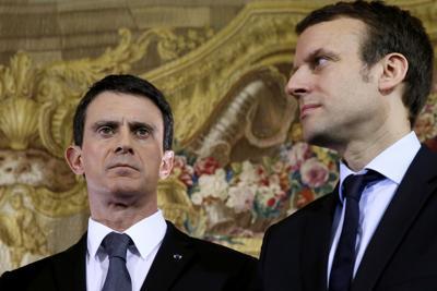 Macron dice no a Valls: